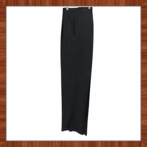 Angelico 100% Wool Black Pants Size 40